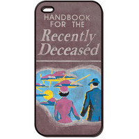 Handbook for the Recently Deceased Fun Case for iPhone SE 6 6S 5S 6S Plus 5 5C 4S 4 & for iPod Touch 6 5