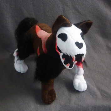 Undead / zombie dog plush - SEWING PATTERN