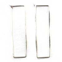 Fail Jewelry Rectangle Hoop Earrings