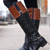 Dressed Like Royalty Riding Boot