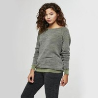 project social t - bonfire crewneck sweatshirt - more colors