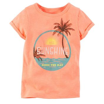 Carter's ''Miss Sunshine'' Tee - Girls