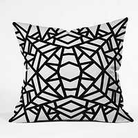 Elisabeth Fredriksson Bold Mosaic Sun Throw Pillow