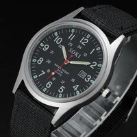 Nylon Men Watch Quartz Watch [6542546435]