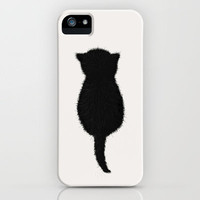 CAT iPhone Case by Y.COH | Society6
