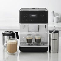 Miele CM6350 Countertop Coffee Machine, Obsidian Black