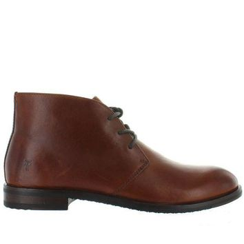 ESBONIG Frye Boot Sam Chukka - Cognac Leather Chukka Boot