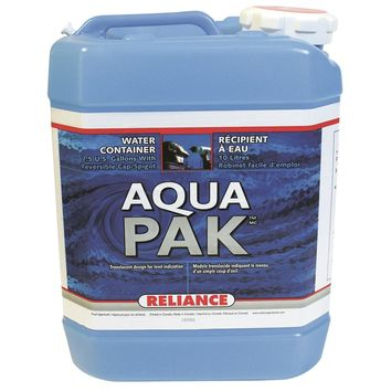Reliance Water-Pak Water Container 2.5 Gallon