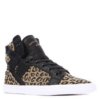 SUPRA The Skytop Sneaker in Cheetah Print Canvas : Karmaloop.com - Global Concrete Culture