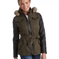 40% Off All Coats | 40% Off All Coats | Belted Hooded Jacket | Lord and Taylor