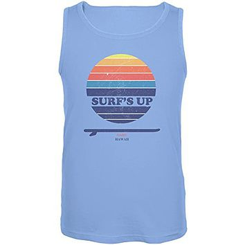 Surf's Up Oahu Hawaii Mens Tank Top