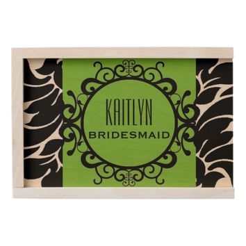 WILL YOU BE MY BRIDESMAID WOODEN KEEPSAKE BOX