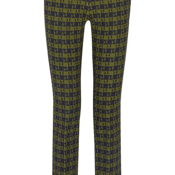 Stretch-jacquard slim-leg pants | Victoria Beckham | US | THE OUTNET