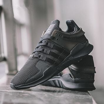 Fashion Online Fashion Adidas Men's Equipment Eqt Support Adv Black Casual Sports Shoes