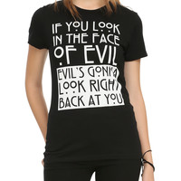 American Horror Story Face Of Evil Girls T-Shirt