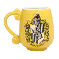 Harry Potter Hufflepuff Crest Oval Mug