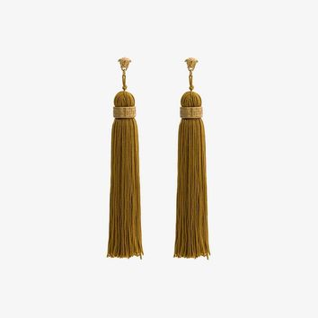 Medusa Tassel Drop Earrings