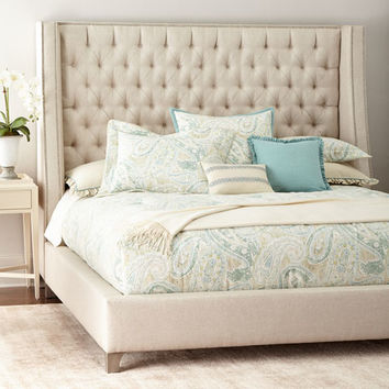 Massoud Missy Tufted Bed