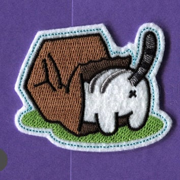 Neko Atsume mac kitty Iron On Patch