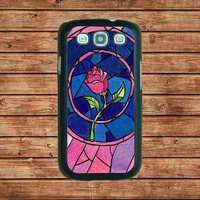 Samsung Galaxy S3 case--Beauty and the Beast,in plastic hard case,black or white or clear color