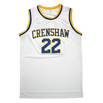 Love & Basketball Quincy McCall #22 Throwback Jersey