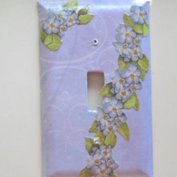 Lavender Light Switch Plate