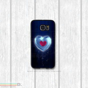 Legend of Zelda Heart Piece, Custom Phone Case for Galaxy S4, S5, S6 - Original design
