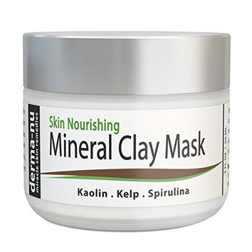Healing Clay Mud Mask for Deep Pore Cleansing - Best Face Mask for Acne, Oily Skin & Blackheads - Reduces Wrinkles & Minimizes Pores - Organic and Natural Skin Cleanser & Therapeutic Spa Mask - 2oz