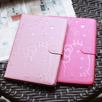 Cute Stand Magnetic Smart Tablet Case Cover For Apple iPad Mini 1 Mini 2 Mini 3 Case Cover Girl Kids Gift Protector
