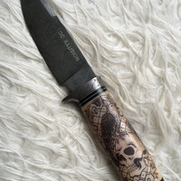 Damascus Steel handmade knife dagger,  WICKED