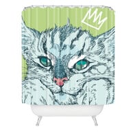 Geronimo Studio Cat Attack Shower Curtain