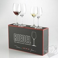 Riedel Wine Series Mixed Cabernet/Viognier Glasses, Set of 4