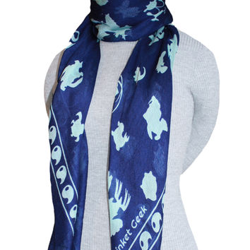 PKMN Water Type Trainer Scarf