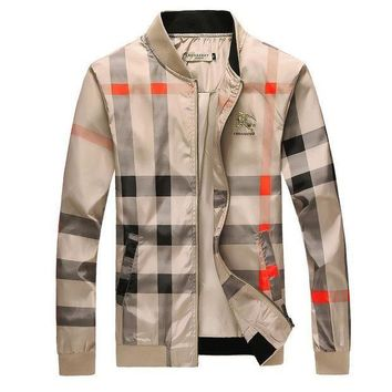 ONETOW Burberry men's tide brand fashion jacket F