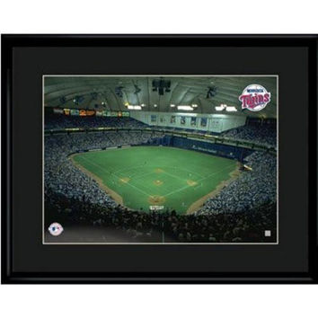 Minnesota Twins MLB Humphrey Metrodome Limited Edition Lithograph