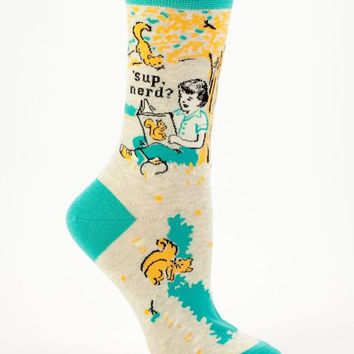 'Sup Nerd Women's Socks