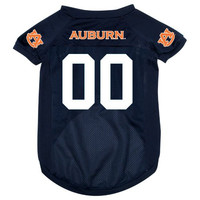 NCAA Auburn Tigers Pet Jersey,  Small