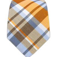 Linen Avenue Plaid  - Orange