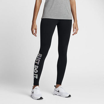 The Nike Sportswear Just Do It Women's Leggings.