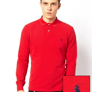 Polo Ralph Lauren Polo Shirt With Long Sleeves