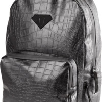 DIAMOND CROCK BACKPACK BLACK