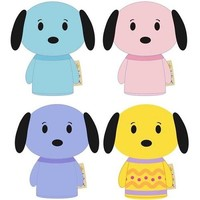 itty bittys® Snoopy Pastel Surprise