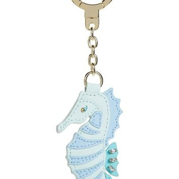 kate spade new york 'seahorse' leather bag charm | Nordstrom