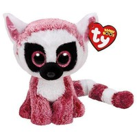 "LeeAnn The Pink Lemur 6"" Plush Ty Beanie Boos Toy Doll NEW"