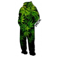 ☮♡ Weed Onesuit Jumpsuit ✞☆