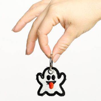 GHOST PATCH KEYCHAIN