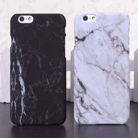 i5 i6 6P Fashion Phone Cases For iPhone 5 Case Marble Stone image Painted Cover For iphone5 5S 6 6S New Screen Protector