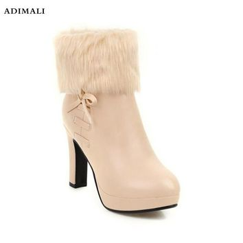 2018 winter shoes women boots leather classic button knee thigh high snow boots ugs australia boots women