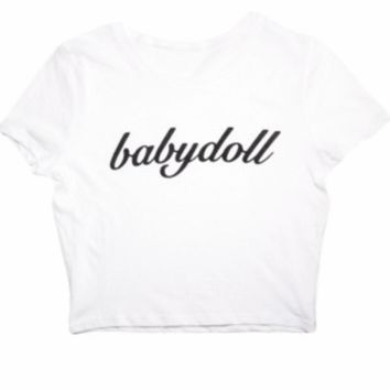 The Babydoll Crop Top