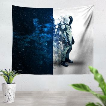 Astronauts Are Always In Space Tapestry